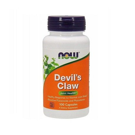 Devil ' s claw 100 Kapseln. (Now Foods)