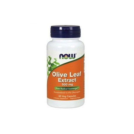Olive Leaf Extract-500mg, 60 Kapseln.