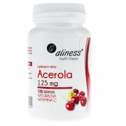 Acerola Natural Vitamin C, 125 mg, 120 Tabletten