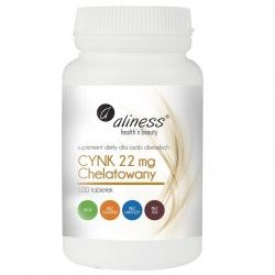 Zink chelatierte 22 mg, 100 Tabletten